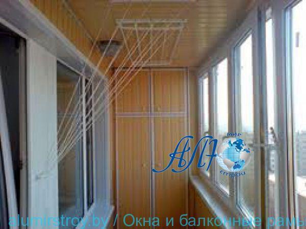 Ремонт и отделка балкона, лоджии минск