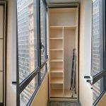 шкаф на балкон в минске