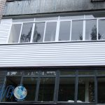 Наружная отделка балкона в минске