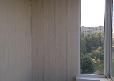 балкон в белых тонах фото
