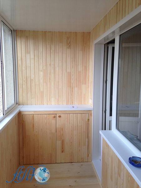 шкафчик-тумбочка на балкон