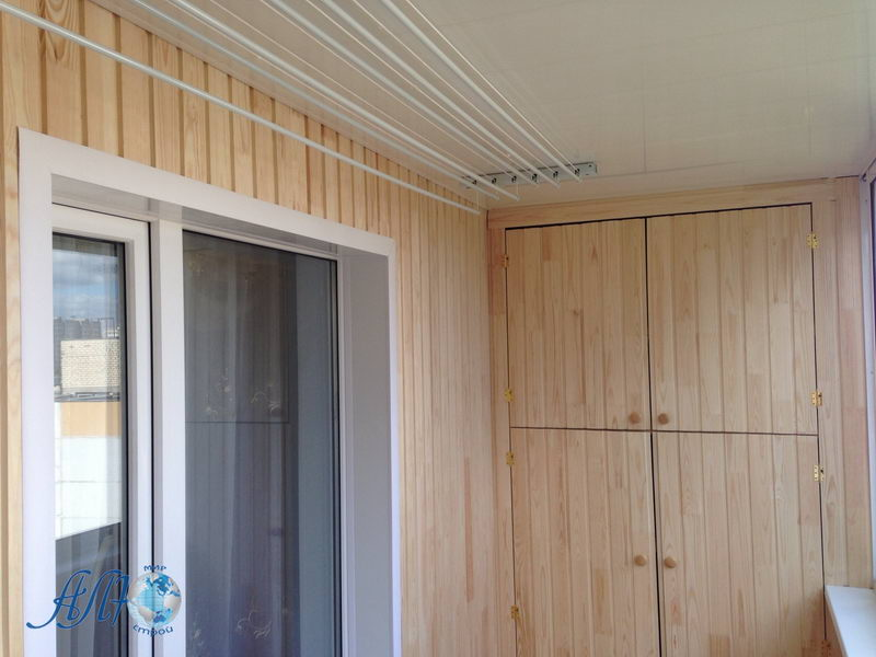 ремонт балконов варианты