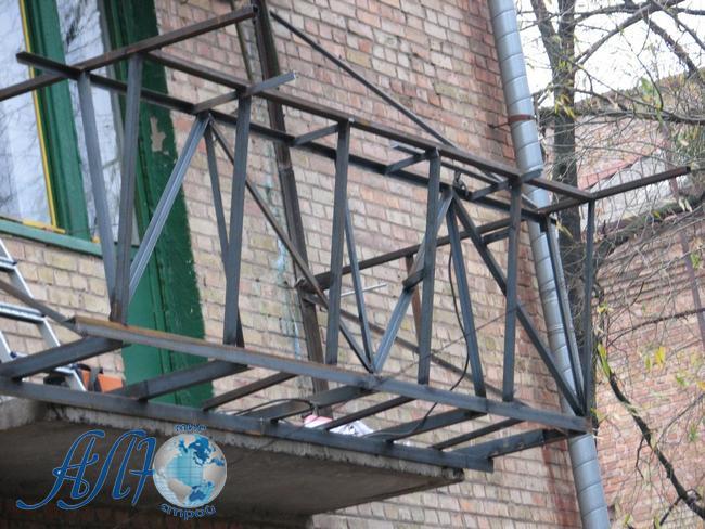 каркас под остекление балкона заказать в Минске