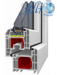 4-камерная ПВХ-система A58