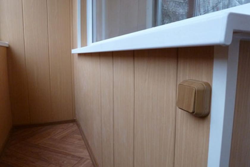 утепление балкона отделка панелями