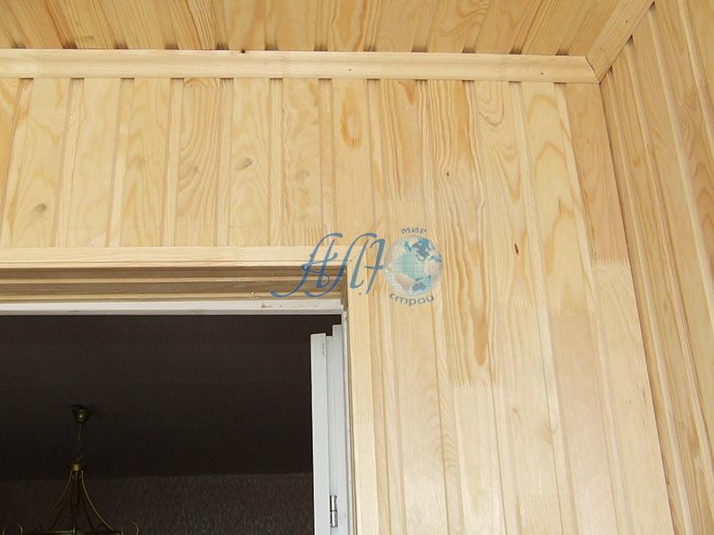 ремонт балкона отделка вагонкой Минск