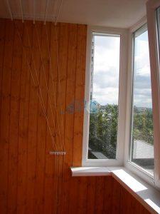 установка сушилки на балкон