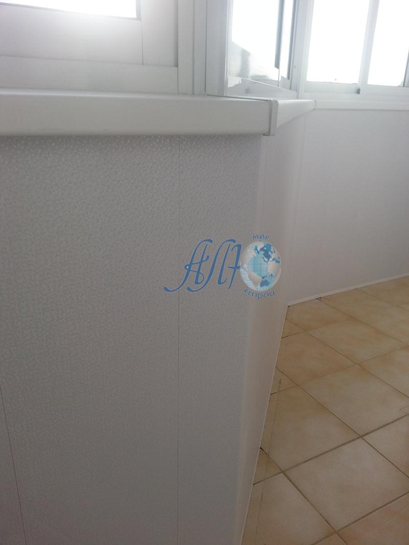 утепление и штукатурка балкона в Минске